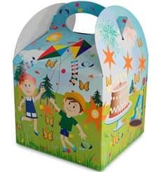Caixa Infantil Festa 131x131x115mm (25 Uds)
