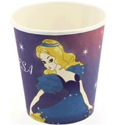 Copo Cartão Desenho Princesa 200 ml (25 Unidades)