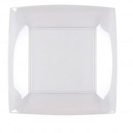 Prato Plastico Raso Transp. Nice PS 230mm (300 Uds)