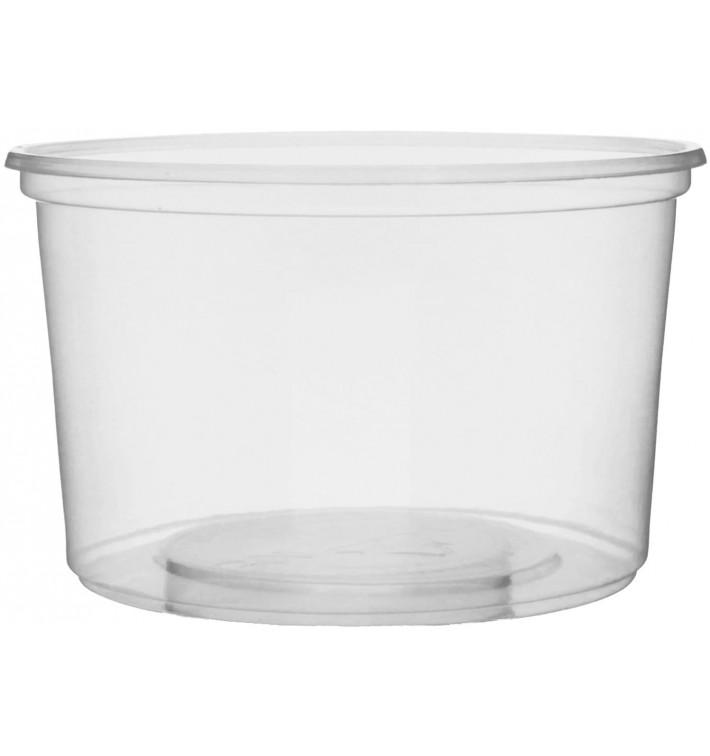 Embalagem Plastico Redondo Transp. 300ml Ø10,5cm (1000 Uds)