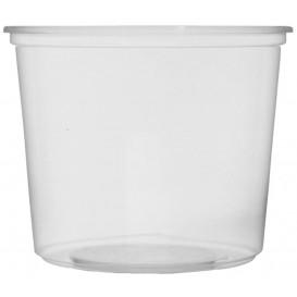 Embalagem Plastico Redondo Transp. 400m lØ10,5cm (100 Uds)