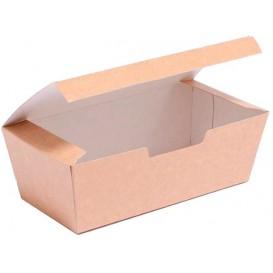 Caixa Take Away Kraft 16,5x7,5x6cm (600 Uds)