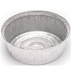 Embalagem Aluminio Redondo Frango 1400ml (125 Uds)