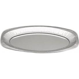 Bandeja Oval de Aluminio 1650 ml (100 Unidades)