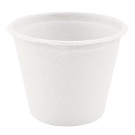 Copo Bio da Cana de Açúcar Branco Ø95mm 425ml (50 Uds)