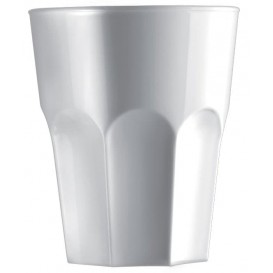Copo Reutilizáveis SAN para Shot Branco 40ml (72 Uds)
