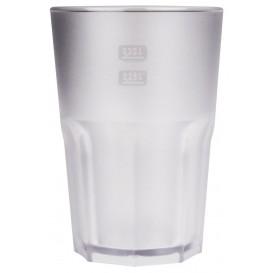 Copo Reutilizáveis SAN Frost Transparente 400ml (75 Uds)