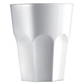 Copo Plastico Branco SAN Ø85mm 400ml (5 Uds)