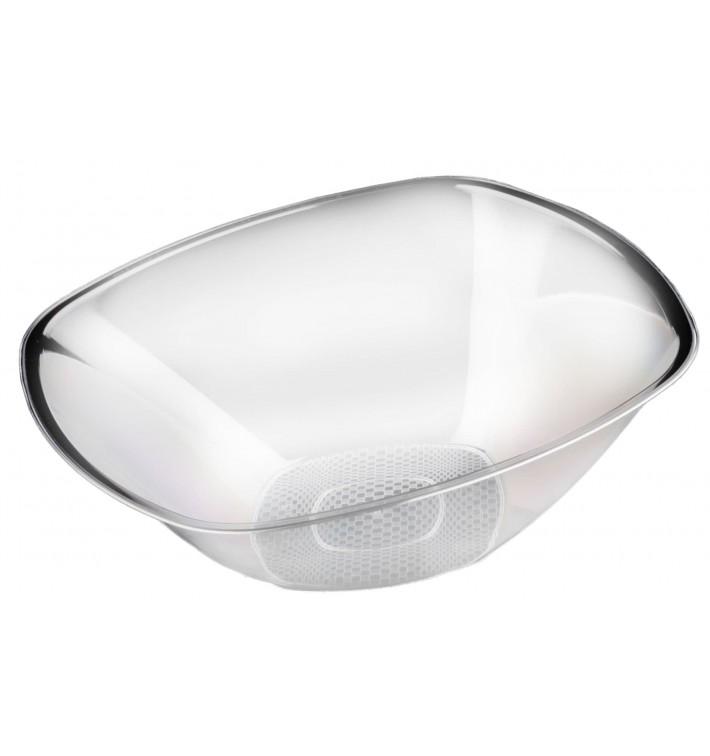 "Tigela Plastico PS Cristal ""Square"" 3000ml Ø27,7cm (30 Uds)"