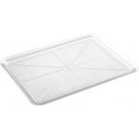 Bandeja Plastico Tray Transp. 37x50cm (4 Unidades)