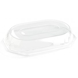 Tampa Plastico Trasparente Bandeja 46x30x7 cm (50 Uds)