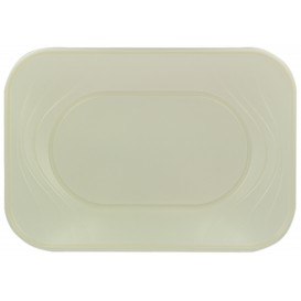 "Bandeja Plastico PP ""X-Table"" Pérola 330x230mm (2 Unidades)"