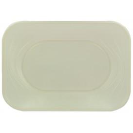 "Bandeja Plastico PP ""X-Table"" Pérola 330x230mm (60 Unidades)"