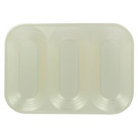 "Bandeja Plastico PP ""X-Table"" 3C Pérola 330x230mm (2 Unidades)"