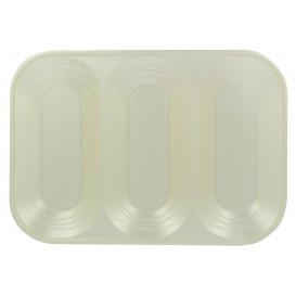 "Bandeja Plastico PP ""X-Table"" 3C Pérola 330x230mm (30 Unidades)"