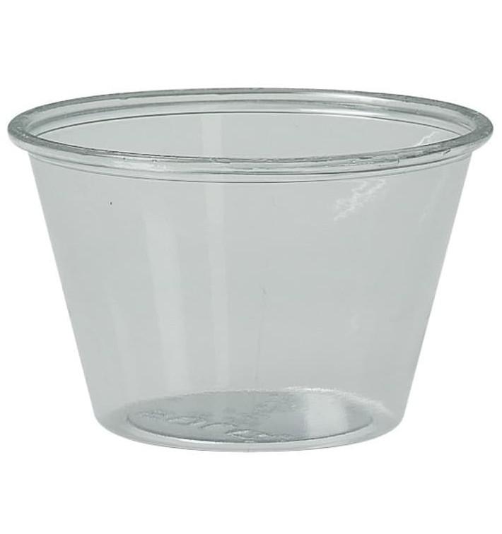Copo para Molhos rPET Cristal 120ml Ø7,3cm (250 Uds)