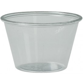Copo para Molhos rPET Cristal 120ml Ø7,3cm (2500 Uds)
