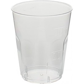 "Copo Plastico Shot ""Diamant"" PS Transp. Cristal 50ml (50 Uds)"