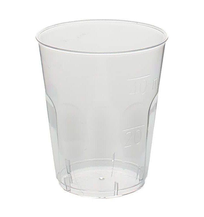 "Copo Plastico Shot ""Diamant"" PS Transp. Cristal 50ml (50 Uds)"
