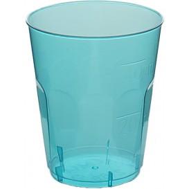 "Copo Plastico Shot ""Diamant"" PS Azul Transp. Cristal 50ml (20 Uds)"