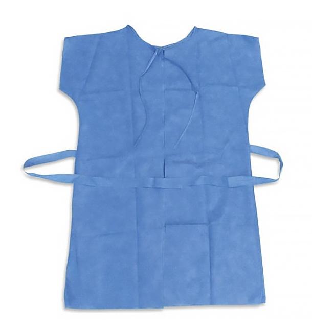Bata TST para pacientes RX Azul XL (10 Uds)