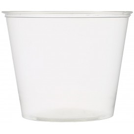 Copo para Molhos PET Cristal 165ml Ø7,3cm (250 Uds)