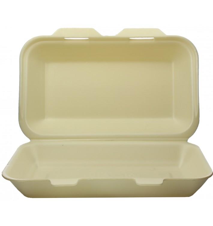 Embalagem Foam LunchBox Champahne 240x155x70mm (500 Uds)
