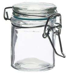 Jarra de Vidro Hermético 45 ml (24 Uds)