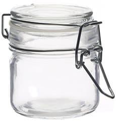 Jarra de Vidro Hermético 80 ml (24 Uds)