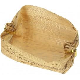 Mini basket de Bambu Degustaçâo 3,8x5,8x3,8cm (25 Uds)