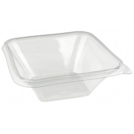 Tigela de Plastico PET Impression 750ml 170x170x60mm (50 Uds)
