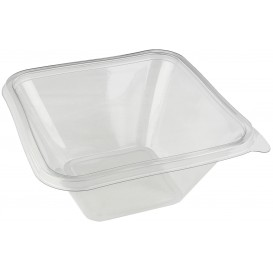 Tigela de Plastico PET Impression 1000ml 170x170x80mm (50 Uds)