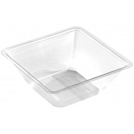 Tigela mini de Plastico PET Termosoldaveis 175ml 90x90x40mm (600 Uds)