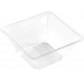 Tigela mini de Plastico PET Termosoldaveis 250ml 90x90x60mm (600 Uds)