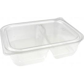 Embalagem de Plastico PET 2C 220/280ml 18x15x4cm (75 Uds)