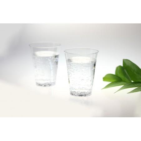 Copo Plastico Injetado Transparente 200ml (25 Uds)