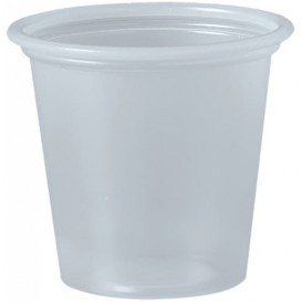 Copo Plastico PP para Molhos Transp. 35ml Ø48mm (250 Uds)