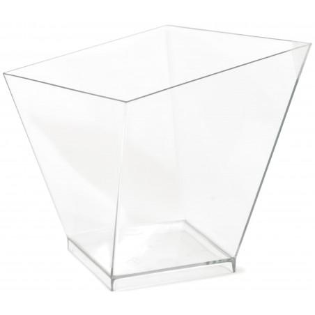 "Copo Plastico PS Degustação ""Charme"" Trans. 120ml (40 Uds)"