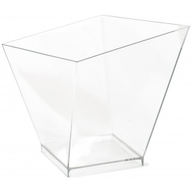 "Copo Plastico Ps Degustação ""Charme"" Trans. 120ml (480 Uds)"