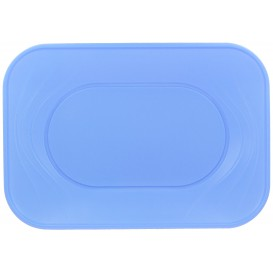 "Bandeja Plastico PP ""X-Table"" Violeta 330x230mm (2 Unidades)"