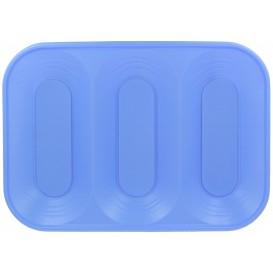 """Bandeja Plastico PP """"X-Table"""" 3C Violeta 330x230mm (2 Unidades)"""