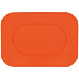 "Bandeja Plastico PP ""X-Table"" Laranja 330x230mm (2 Unidades)"