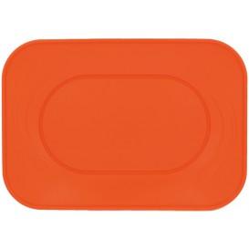 "Bandeja Plastico PP ""X-Table"" Laranja 330x230mm (60 Unidades)"