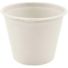 Copo Bio da Cana de Açúcar Branco Ø110mm 450ml (50 Uds)