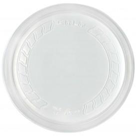 "Tampa Plastico PP ""Deli"" Translúcido Ø120mm (500 Uds)"