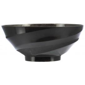 Tigela Degustação de Plástico Preto 150ml (40 Unidades)