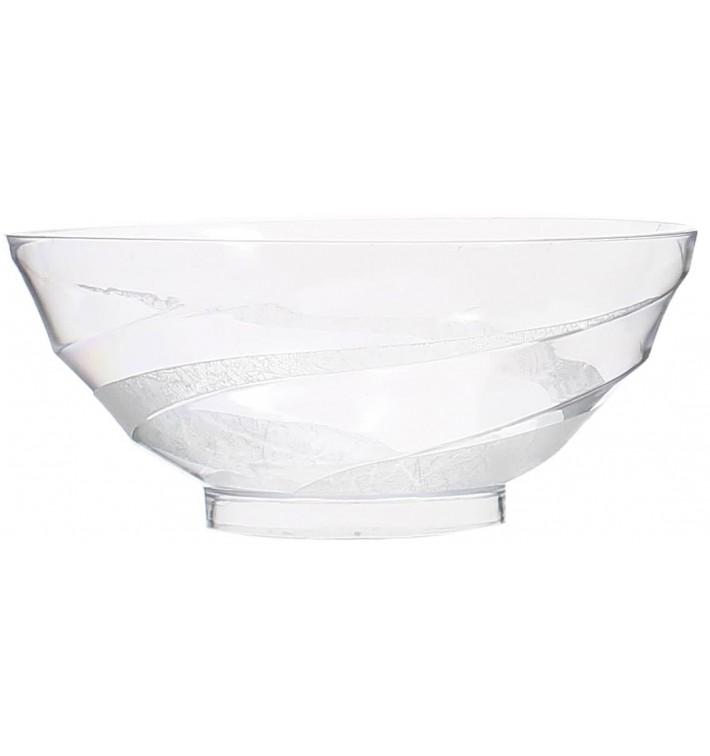 Tigela Degustação de Plástico Transparente 150ml (40 Unidades)