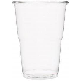 Copo Plastico PET Cristal Transparente 490ml (60 Uds)