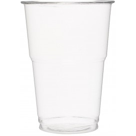 Copo Plastico PET Cristal Transparente 350 ml (50 Uds)