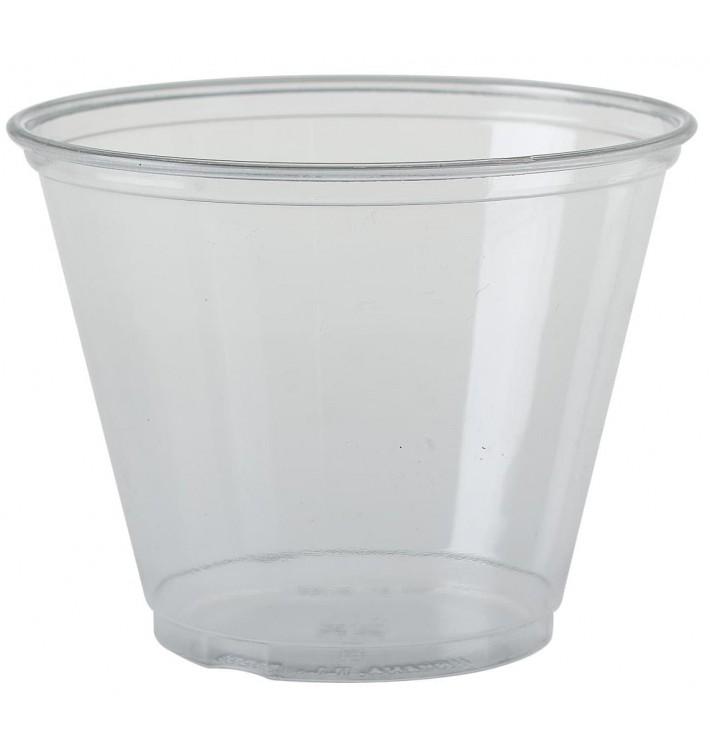 Copo Plastico PET Cristal Solo® 9Oz/266ml Ø9,2cm (1000 Uds)